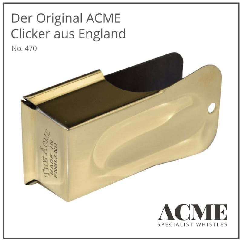 Der Original ACME Clicker aus England